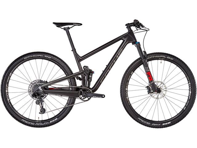 FOCUS O1E 8.8 Full suspension mountainbike zwart
